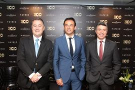 Inauguração Novotel Curitiba Batel 300 AccorHotels Brasil Olivier Hick, Patrick Mendes e Beto Caputo