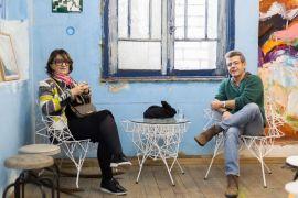 SABRA Curitiba expõe A Matéria da Memória na SOMA Galeria Os artistas Guita Soifer e Cleverson Oliveira. Foto: Maringas Maciel