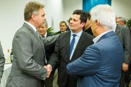 Compagas Sergio Moro Smart Energy Sergio Moro Confira fotos do primeiro evento de Sérgio Moro após aceitar Ministério da Justiça Luiz Malucelli Neto (1)