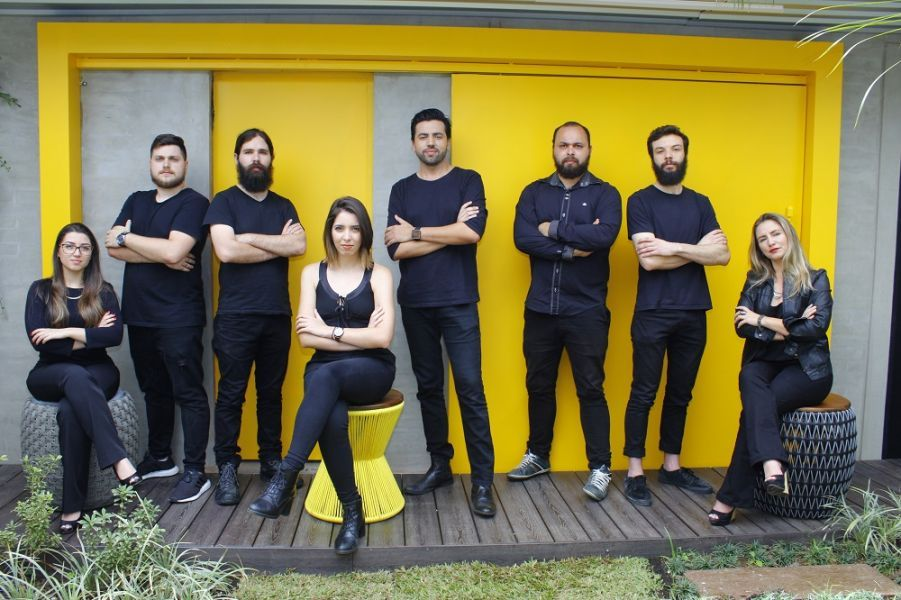 A equipe do escritório Givago Ferentz.