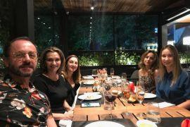 Confraternização Ornare Curitiba Ari Polis Jacobs, Claudia Magalhães, Gilza Dias, Margit Soares e Caroline Rauen