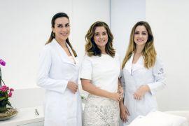 Isabela Fleischfresser , Karla Assed e Mayara Bravo