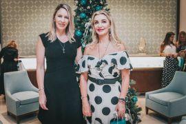 Tiffany e ICO Project A gerente da Tiffany&Co. Curitiba Aurélia Kirilos e Vânia Dalmaz