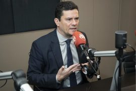 Sérgio Moro em entrevista à rádio Jovem Pan Curitiba. (Foto: Reprodução)