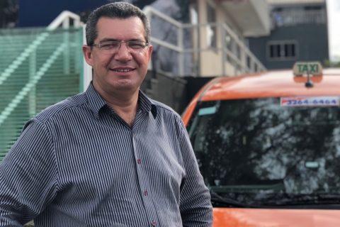 O taxista Marlei