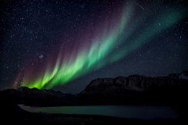 Expedição para aurora boreal