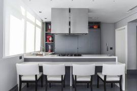 Cozinha integrada é a dica de Margit Soares