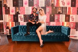 A influencer Stephanie Garcia comemora aniversario com tema SHINE AND DISCO GLAM