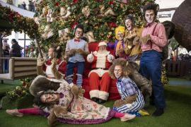 """Para complementar a magia do Natal, o Pátio Batel apesentará o espetáculo """"Floc, o pequeno grade esquilo""""."""